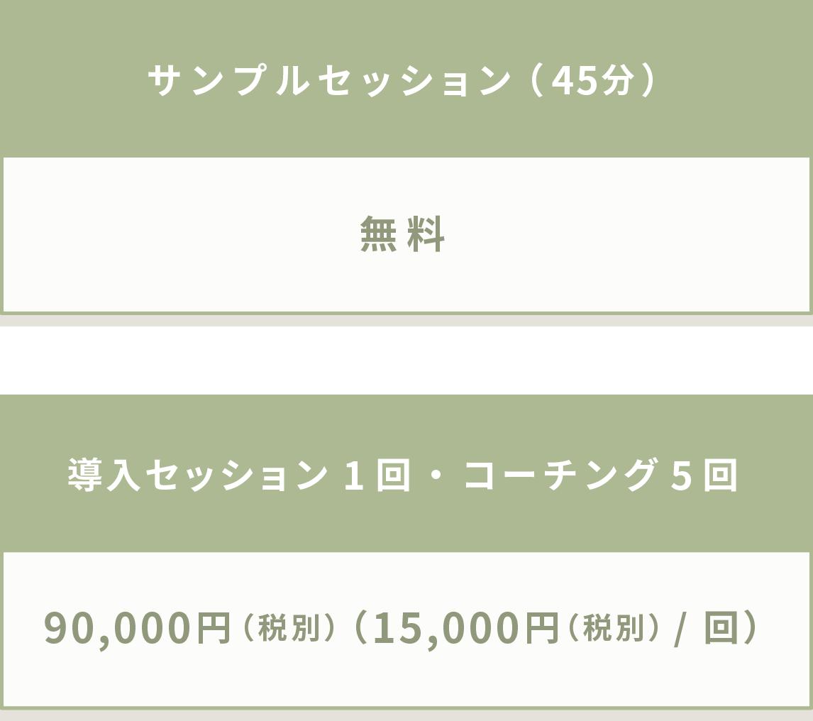 コーチングの料金表_sp